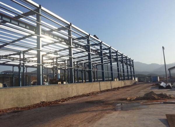 钢结构厂房案例